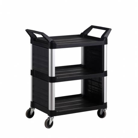 Utility Cart with Enclosed End Panels on 2 Sides | QualityJack