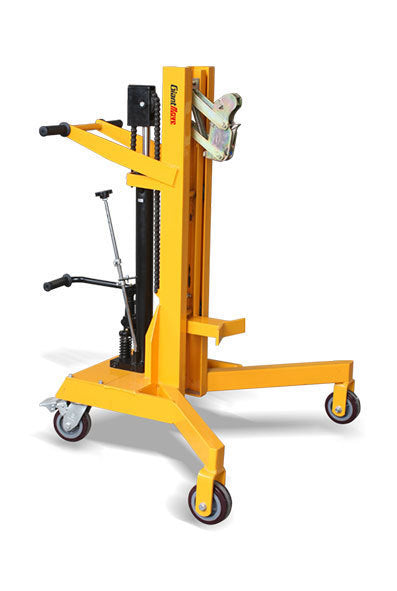 Raptor Drum Loader Trolley capacity 450kg lifting 500mm | QualityJack