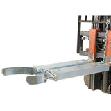 Galvanised Forklift Drum Grab Load Capacity 500kg | QualityJack