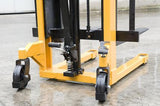 500Kg Mini Manual Pallet Stacker Lifting Height 1200mm | QualityJack