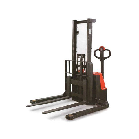 1000Kg Electric Straddle Platform Stacker 3000mm Lift Height | QualityJack