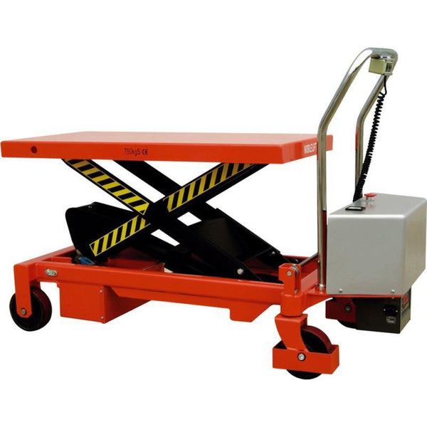 Electric Scissor Lift Table Lifter Capacity 500kg | QualityJack