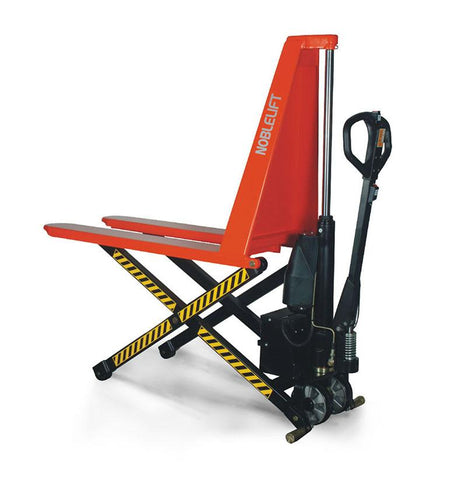 1T Electric Powered Scissor Lift Pallet Jack Fork Width 540MM | QualityJack