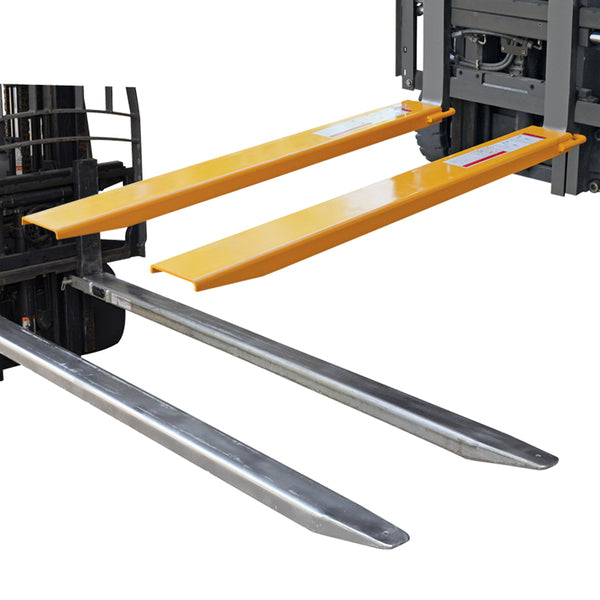 Galvanised Heavy Duty Fork Extension Forklift Slippers and Tines | QualityJack