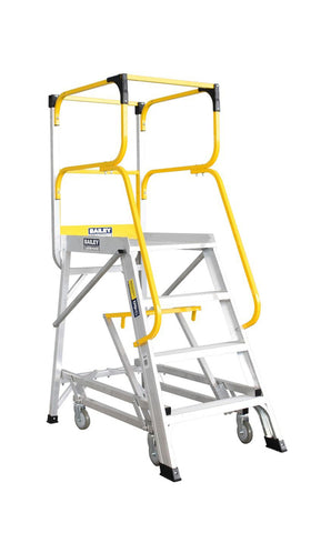 Bailey 4 Step Deluxe Order Picker 170Kg Height 1.1m | QualityJack