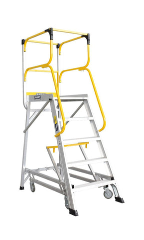 Bailey 5 Step Deluxe Order Picker 170Kg Height 1.36m | QualityJack