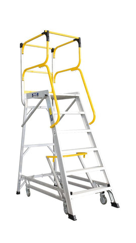 Bailey 6 Step Deluxe Order Picker 170Kg Height 1.66m | QualityJack