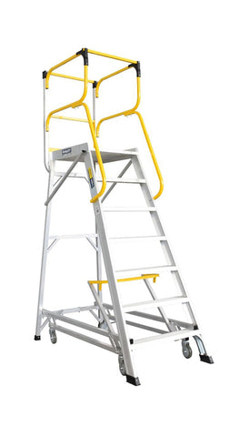 Bailey 7 Step Deluxe Order Picker 170Kg Height 1.94m | QualityJack
