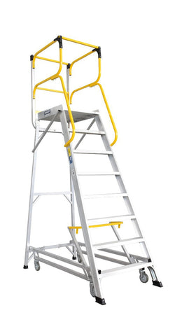 Bailey 8 Step Deluxe Order Picker 170Kg Height 2.21m | QualityJack