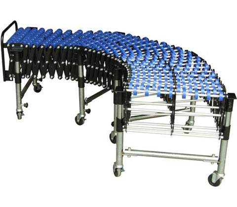 Heavy Duty Skate Wheel Expandable Conveyor | QualityJack