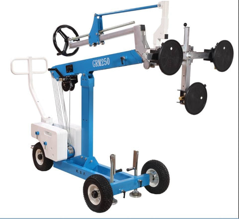 Glass Robot Lifter Capacity 250kg lifting height 2.1m | QualityJack