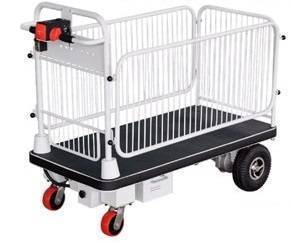 Fully Powered Cart Trolley with Cage 500Kg | QualityJack
