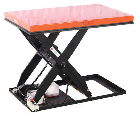 Electric Scissor Lift table 2T Capacity Lift Height 1010mm | QualityJack