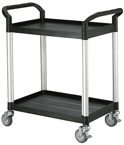Two Tier Plastic Service Cart Trolley | SkyJacks