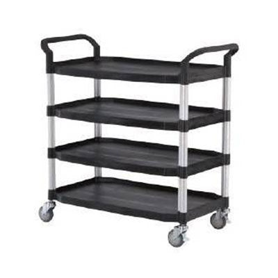 Signature Quad and Triple Deck Service Trolley Cart - Quality Jack