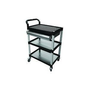 Triple Deck Tool Trolley with Drawer 250Kg Capacity | QualityJack