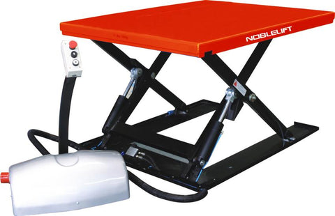 Low Profile Electric Scissor Lift Table 1000Kg Capacity | QualityJack