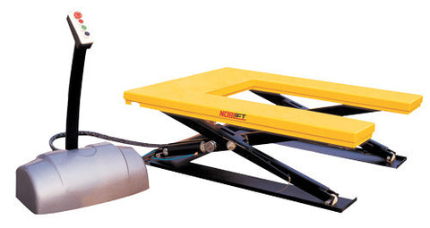 Low Profile U Shape Electric Scissor Table Lifter 1000Kg | SkyJacks