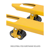 2T Extra Long Hand Pallet Jack Truck 2500mm Long Fork Width 685mm | QualityJack
