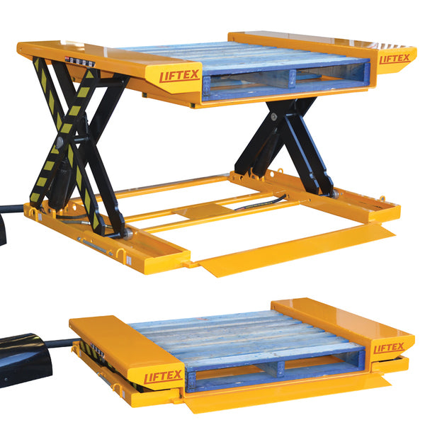 Super Low Profile Lift Table Lift Capacity 1500kg | QualityJack