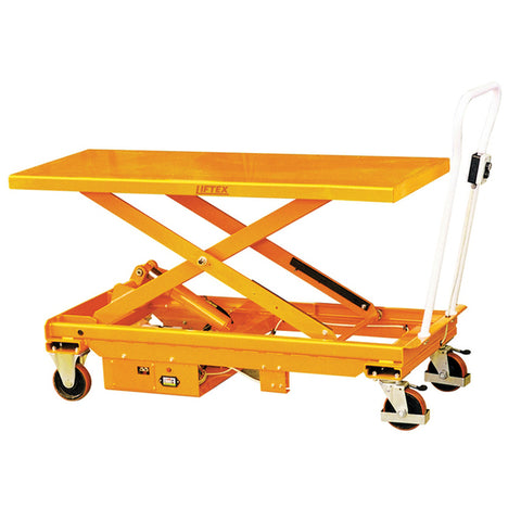 Electric Single Scissor Lift Table Lifter 1000Kg Capacity | QualityJack