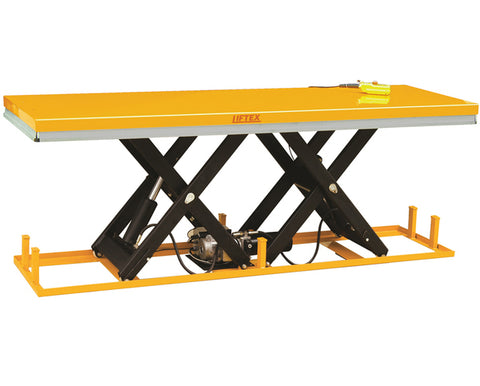 Extra Long Scissor Electric Lift Table | QualityJack