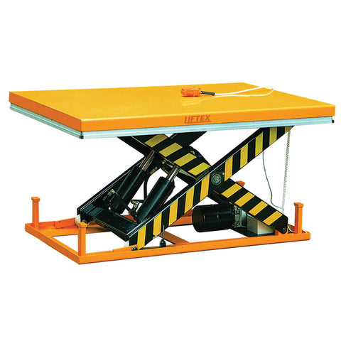 Single Scissor Electric Lift Table Capacity 2000Kg