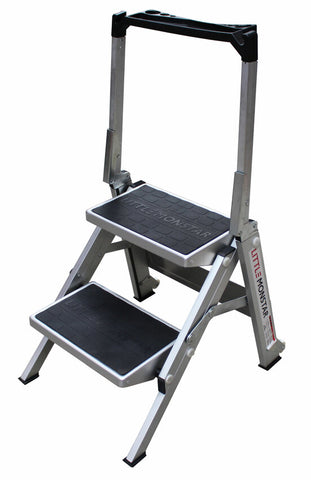 2 Step Little Monstar Compact Step Ladder 480mm - Quality Jack