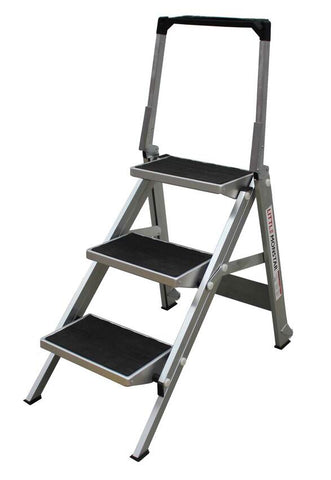 3 Step Little Monstar Compact Step Ladder 680mm - Quality Jack