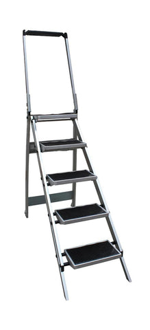 5 Step Compact Step Ladder Little Monstar Height 1890mm | QualityJack