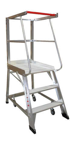 3 Step Monstar Order Picker Ladder 840mm high - Quality Jack
