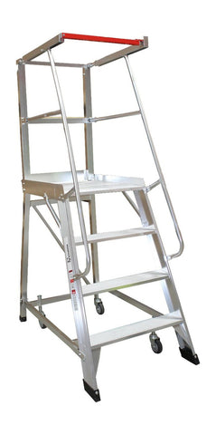 4 Step Monstar Order Picker Ladder 1115 mm high - Quality Jack