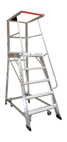 5 Step Monstar Order Picker Ladder 1390 mm high | QualityJack