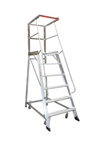 6 Step Monstar Order Picker Ladder 1665mm High | QualityJack