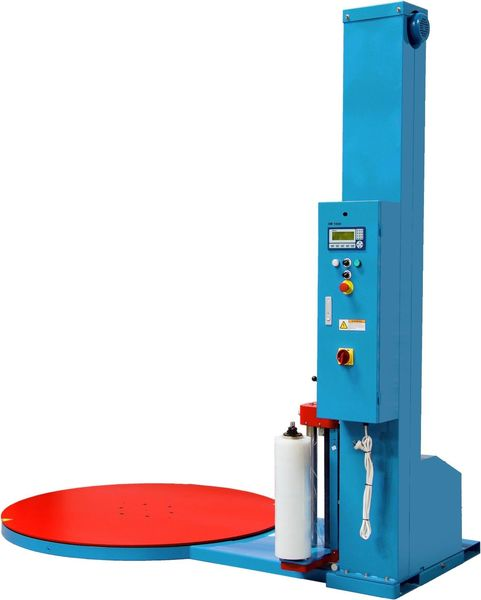 Semi-Auto Stretch Wrapping Machine Pallet wrapping Machine | QualityJack