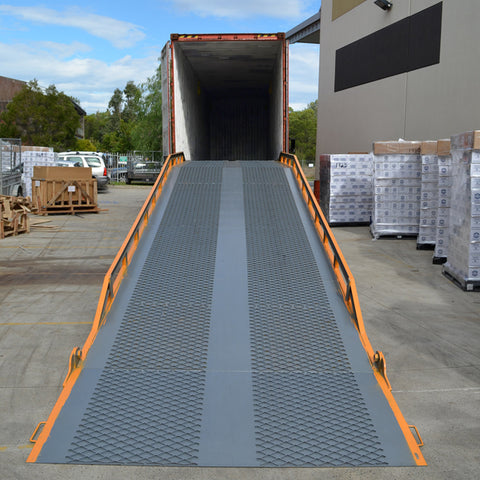 8Tonne Truck Container Load and Unloading Yard Ramp | QualityJack