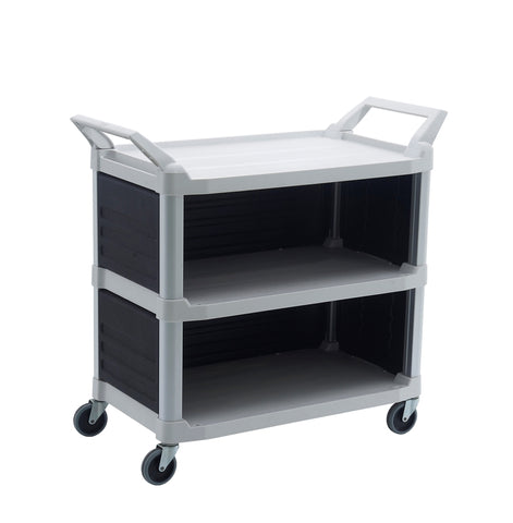 3 Shelf Utility Cart with 3 Panel | SkyJacks
