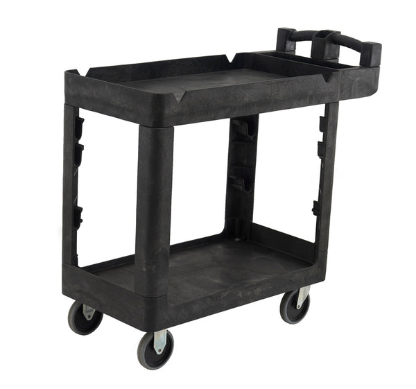 Bitbar 2 Shelf Utility Cart Trolley | QualityJack