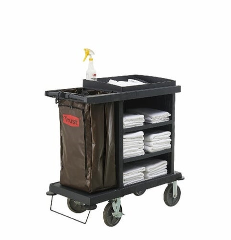 GRANDMAID Cruise Housekeeping Cart | SkyJacks