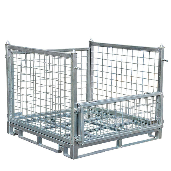 Mesh Stillage Transport Storage cage | QualityJack