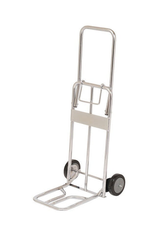 Foldable Chrome Plated Hand Trolley  Truck | QualityJack