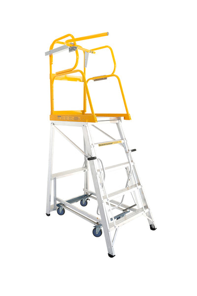 Stockmaster Navigator Order Picking Ladder | QualityJack