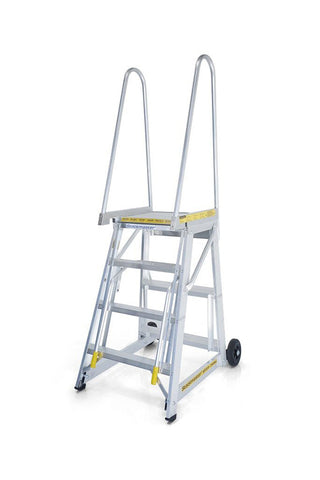 Stockmaster Step-thru Access Ladder | QualityJack