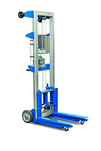 181 Kg Aluminum Hand Stacker Winch Lifter | SkyJacks