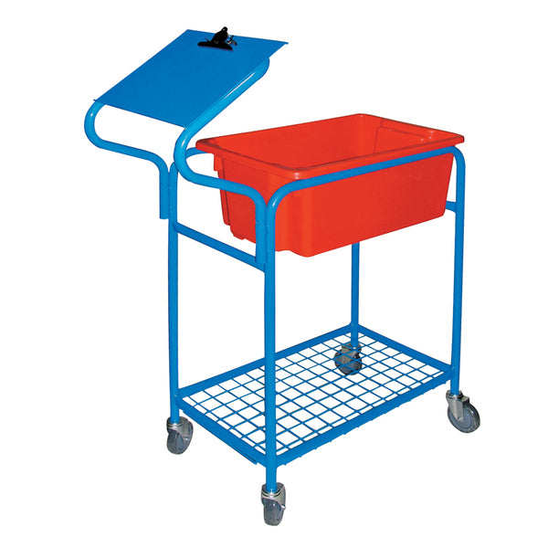 Fully Welded Order Picking Tub Trolley 250 Kg | QualityJack