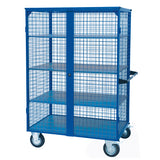 Mesh Cage Trolley With Steel Shelves 500Kg | QualityJack