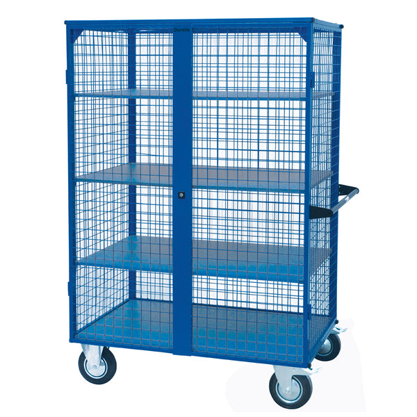 Mesh Cage Trolley With Steel Shelves 500Kg | SkyJacks