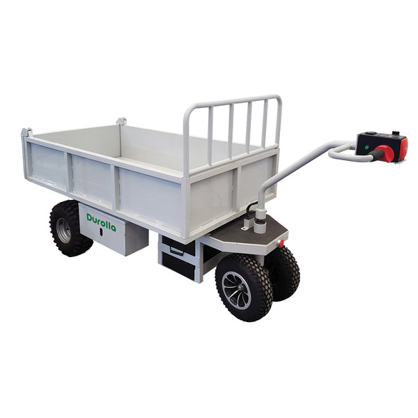 Powered Dump Truck Trolley Load Capacity 800kg | QualityJack