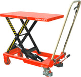 Manual Scissor Lift Table Capacity 150Kg | QualityJack