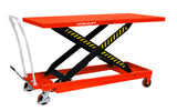 Manual Large Scissor Lifter Table Lifter capacity 500kg - Quality Jack
